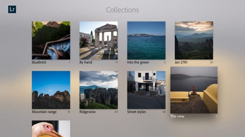 Adobe Lightroom for Apple TV