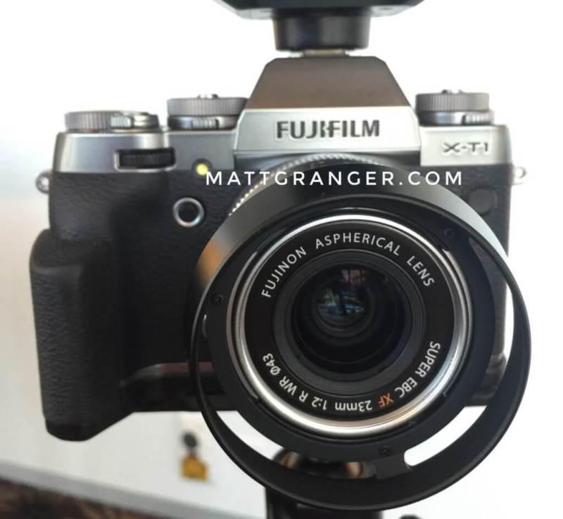 Fujifilm XF23mmF2 WR リーク画像