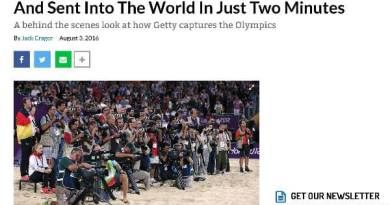 How Getty's Olympics Photos Are Shot, Edited, And Sent Into The World In Just Two Minutes