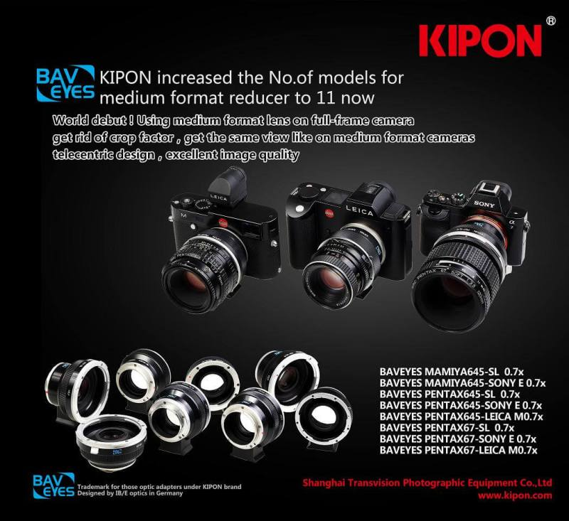Kipon BAVEYES Midium Format