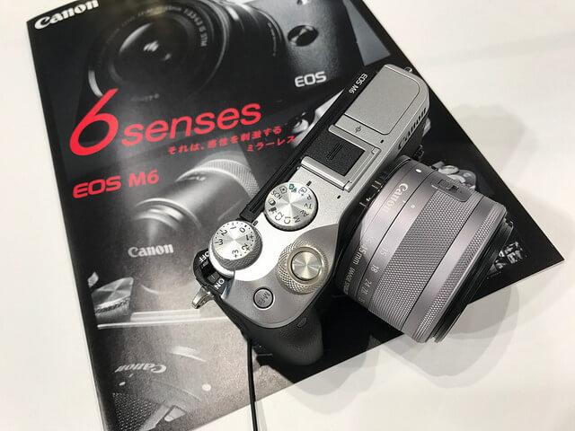 キヤノン EOS M6を見て触って来た!バランスの良さが印象的なミラーレスカメラだった