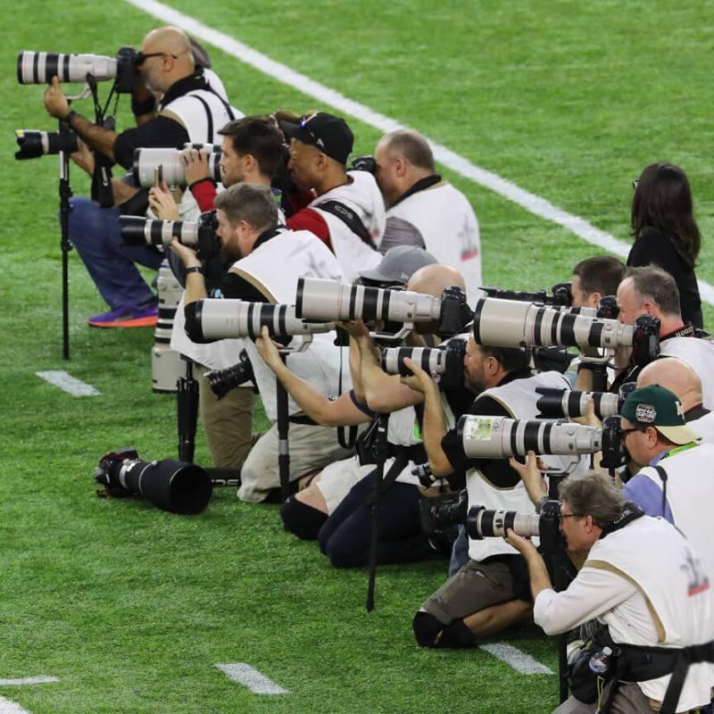 Canon EOS DSLR Superbowl