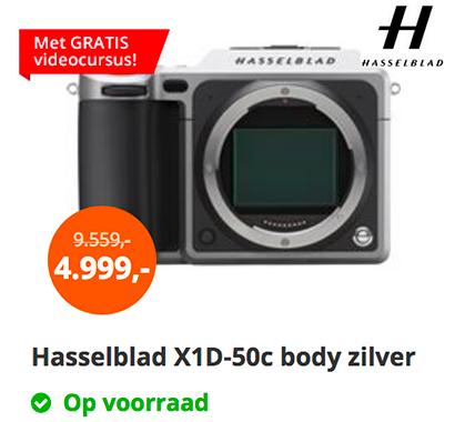 Hasselblad X1D Price