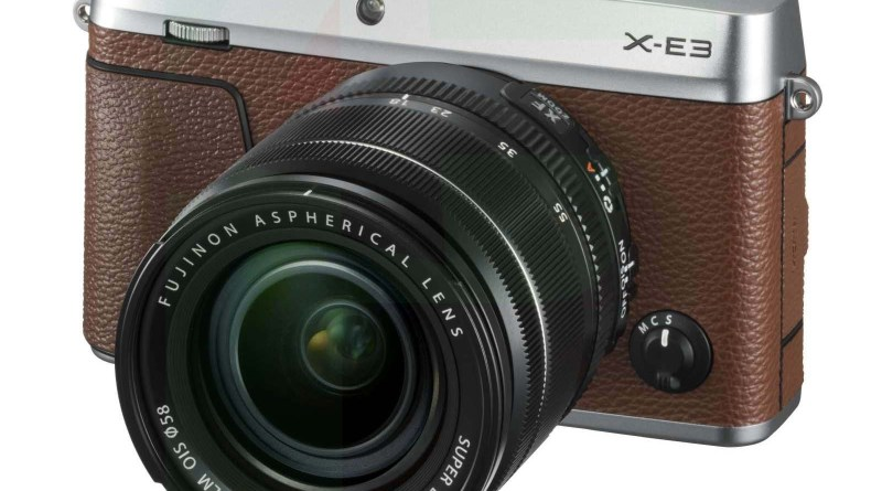Fujifilm X-E3 Brown