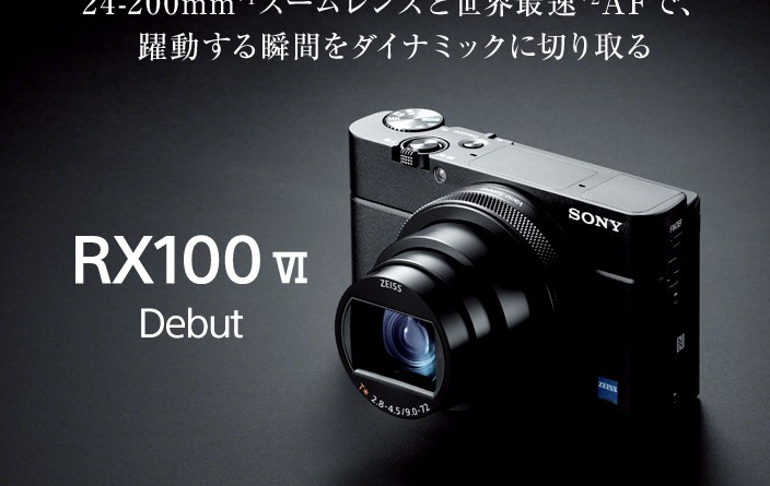 SONY Cyber-HOt DSC-RX100M6