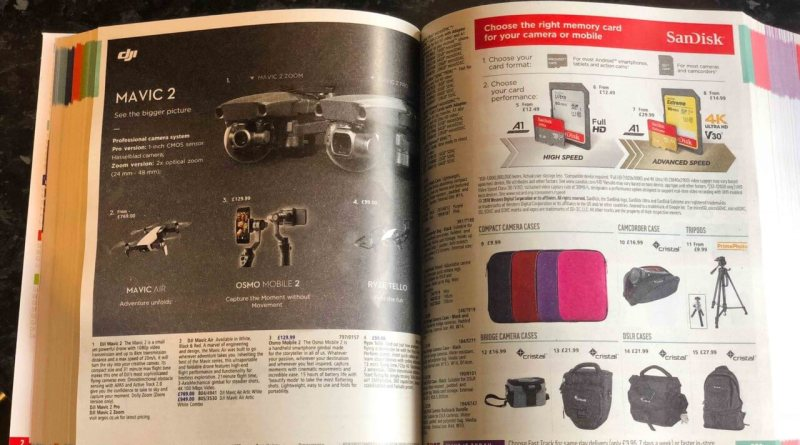 Argos catalogue. Photo credit: Brett Thake