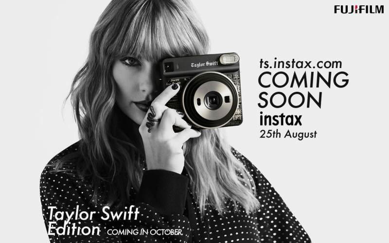 Fujifilm テイラー・スウィフトスペシャルサイト Instax SQ6