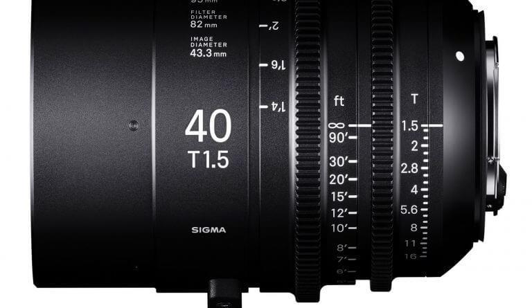 SIGMA 40mm T1.5 FF