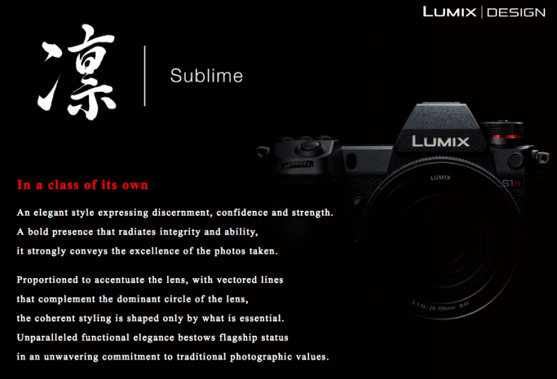 Panasonic Lumix Design Body