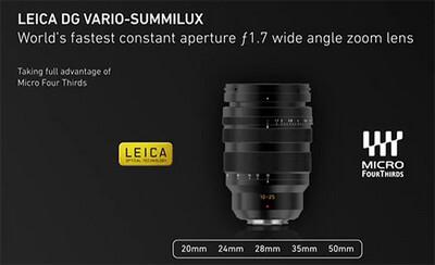 Panasonic LEICA DG VARIO-SUMMILUX 10-25mm F1.7 ASPH.