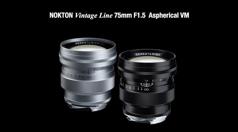 COSINA NOKTON Vintage Line 75mm F1.5 Aspherical VM