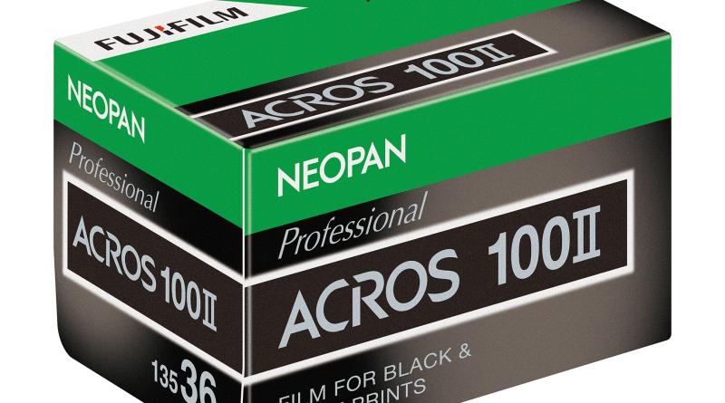 FUJIFILM NEOPAN ネオパン100 ACROS(アクロス)II