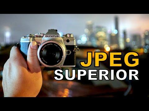 OLYMPUS JPEG is best