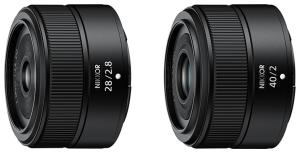 Nikon NIKKOR Z 28mm f/2.8 NIKKOR Z 40mm f/2