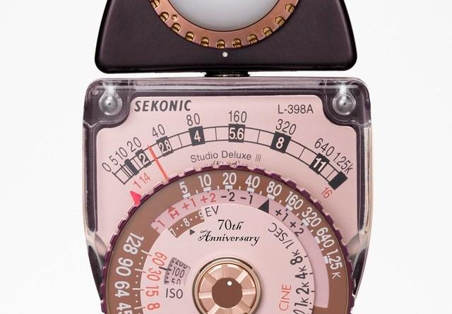 SEKONIC セコニックL-398Aスタジオデラックス70周年記念モデル