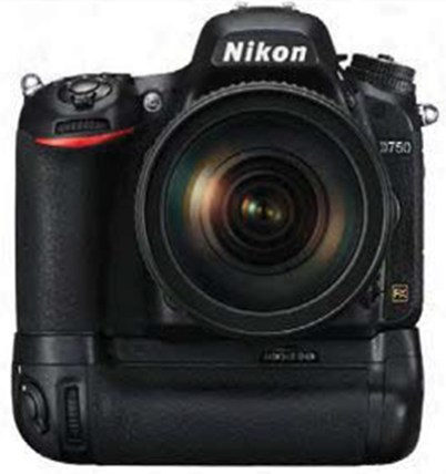 Nikon D750 battery grip