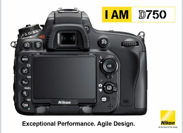 I AM Nikon D750