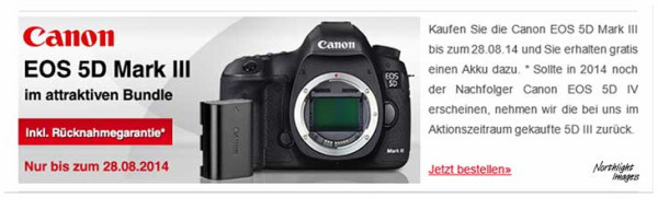 Canon EOS 5D mark 4 Coming?