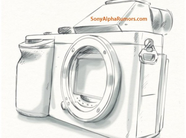(SR5) A7-A7r sketch shows the real camera design! | sonyalpharumors