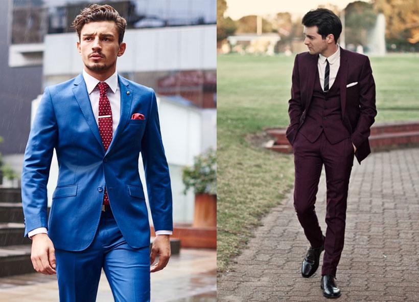 Suit Tie Green Charcoal