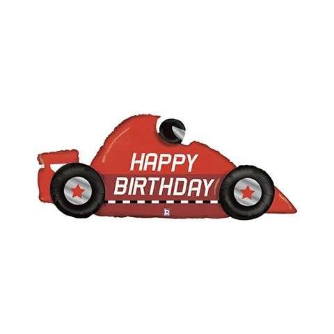 Happy Birthday Race Car 56in Dmballoon Company