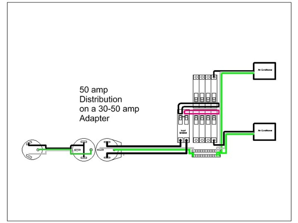 50 Amp To 30 Amp Wiring Diagram