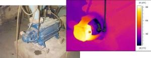 termografia no controlo de condição de rolamentos
