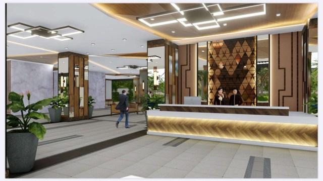 Sonora Garden Residences Lobby