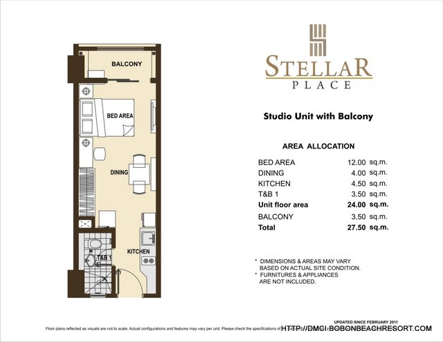 Stellar Place Studio Layout
