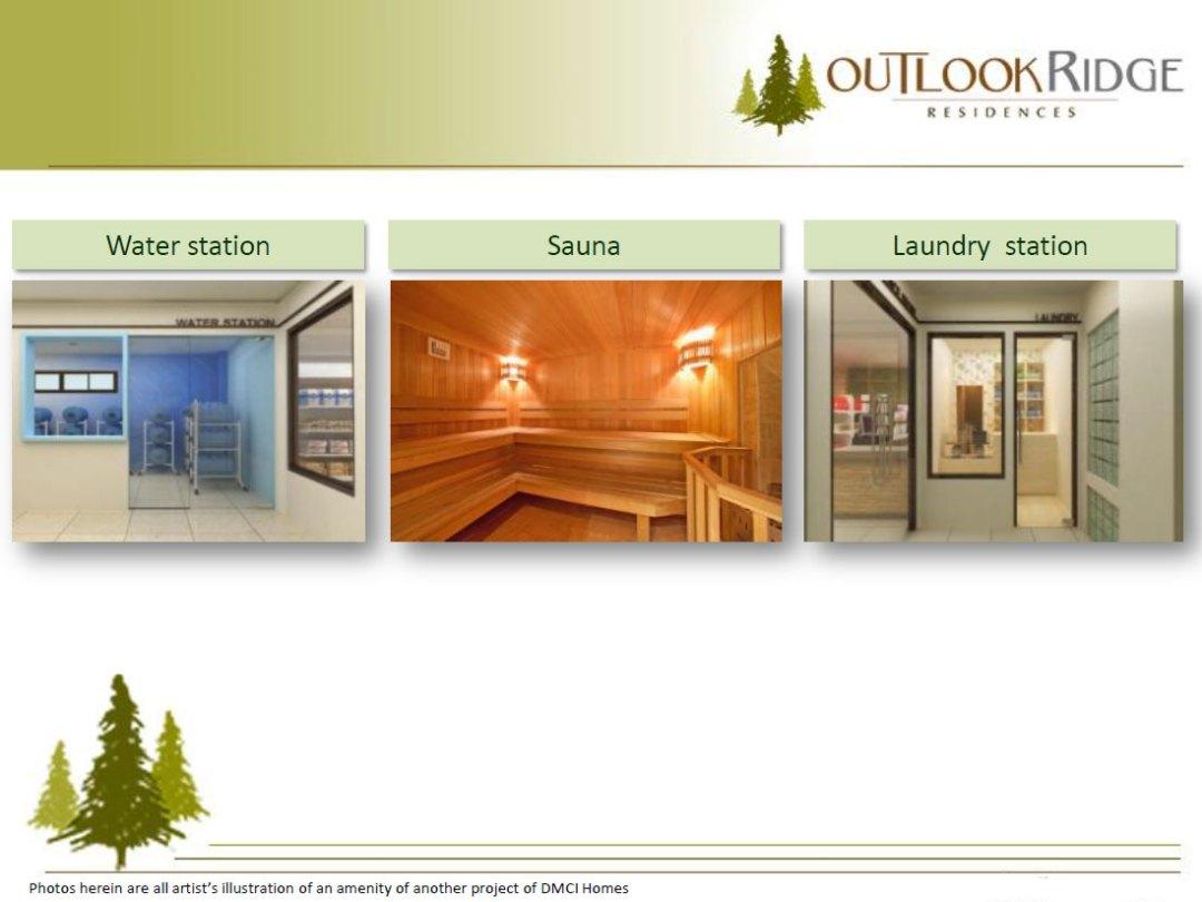 Water Station Sauna Laundry
