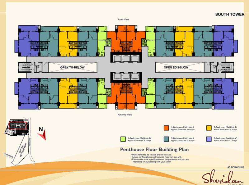 Sheridan Floor layout 6