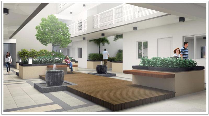 Lumiere Residences Garden Atrium
