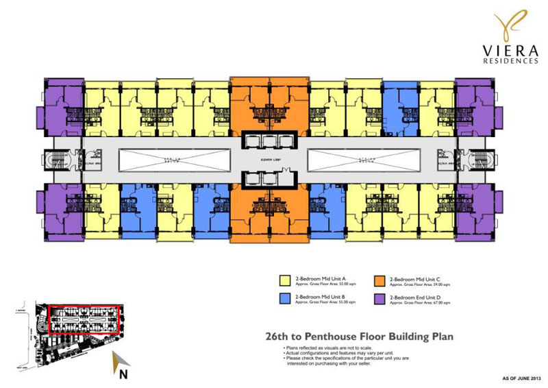 Viera Building Floor Layout 4