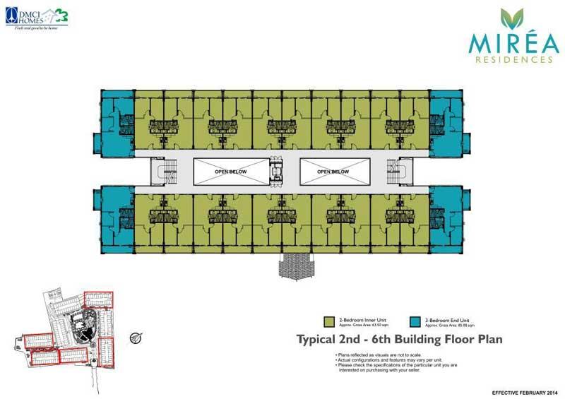 Mirea Building Layout