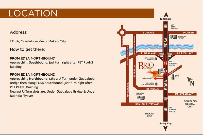 Brio Tower Location