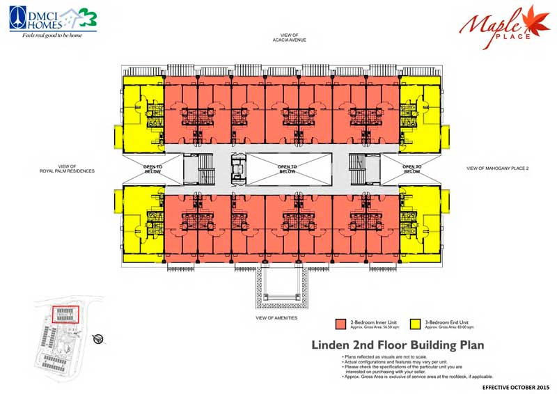 Maple Place Floor Plan