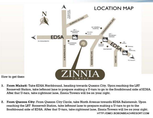 Zinnia Towers Location