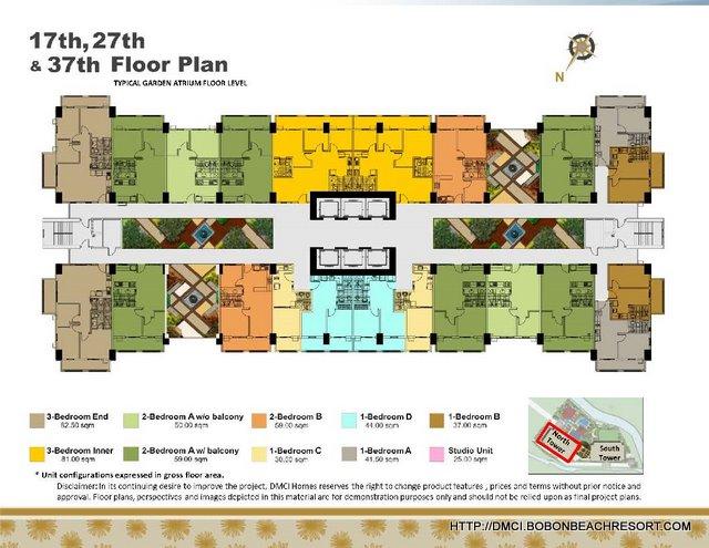 Zinnia Towers Floorplan
