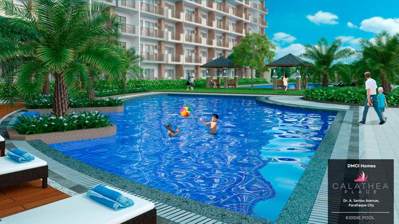 Calathea Place Kiddie-Pool