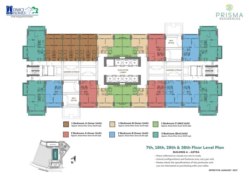 Prisma Residences Floor Plan 2