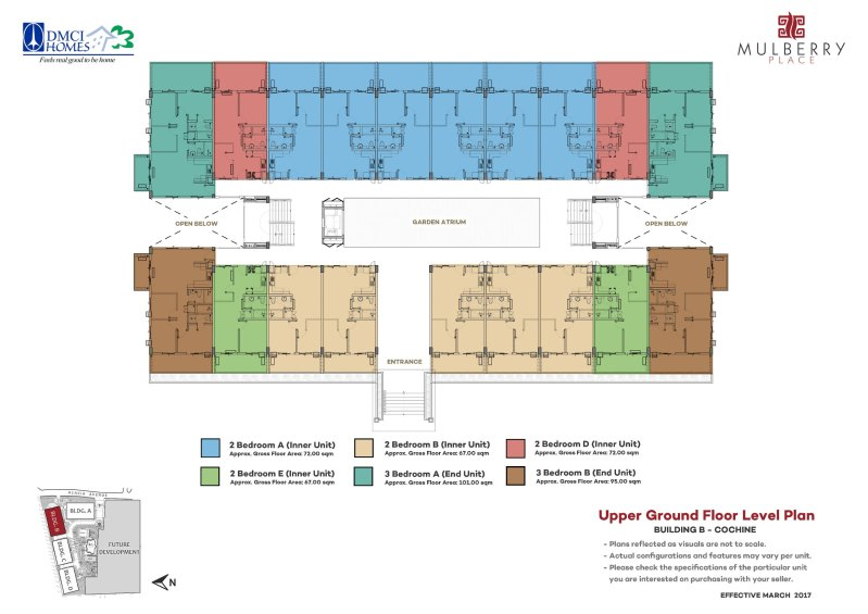 Mulberry Place Cochine Floor plan