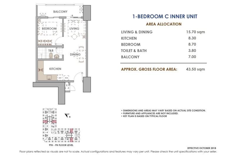 Aston Residences 1 Bedroom C