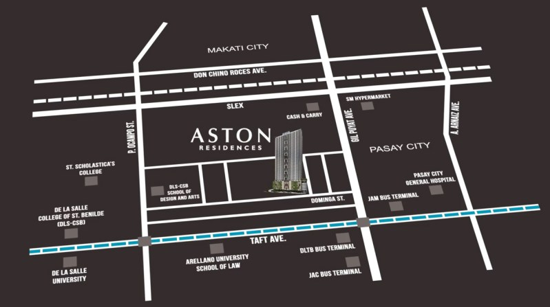 Aston Residences Location DMCI