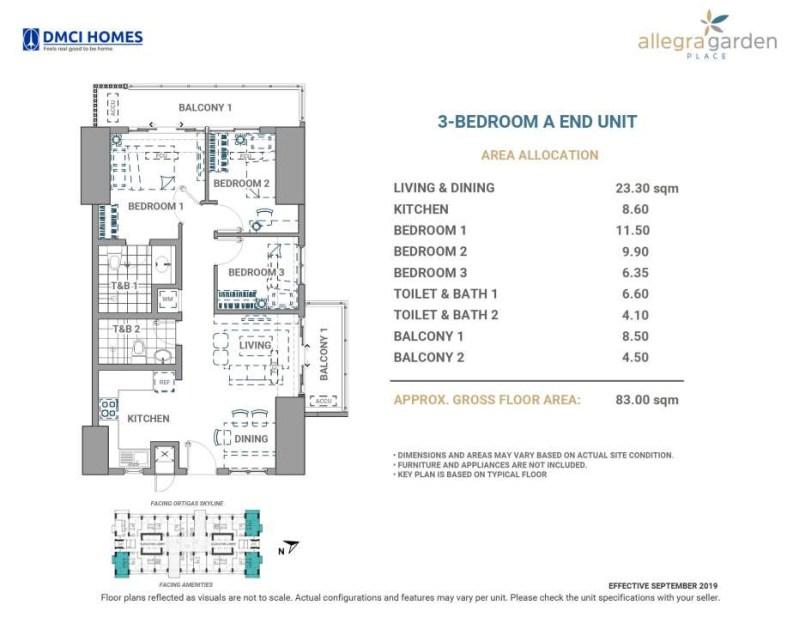 Allegra Garden Place 3BR