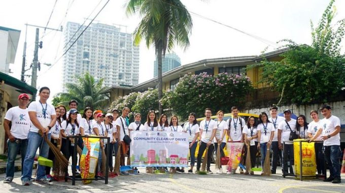 dmci homes guadalupe viejo csr group photo
