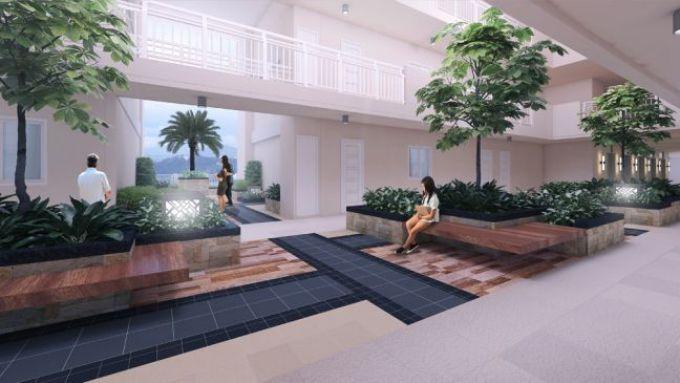 infina towers garden atrium
