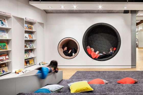 Bibliotheek Rozet Arnhem door architectencollectief demunnik-dejong-Steinhauser