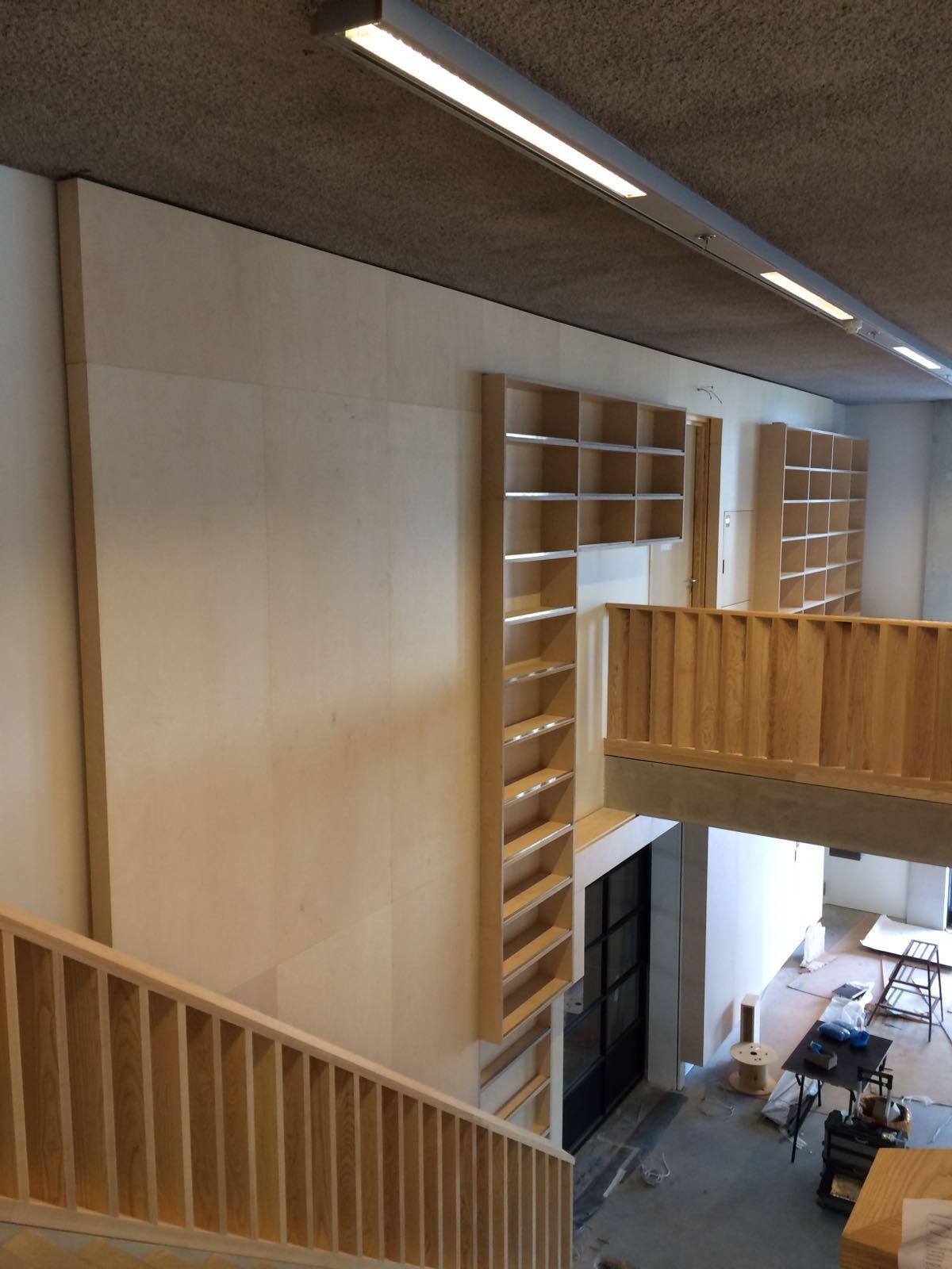 Kastenwand Bibliotheek Ligne Sittard