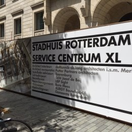 bouwschutting Service Centrum XL+
