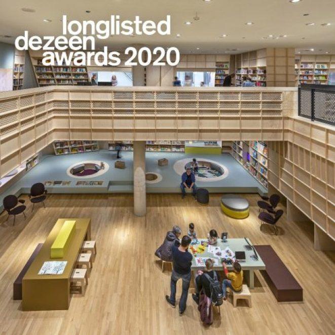 Forum Groningen longlist Dezeen 2020 500x500 - pers/prijs